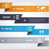 Infographic Abstract pointer . Vector illustration Royalty Free Stock Image