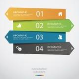 Infographic abstracto Fotografía de archivo