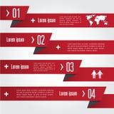 Infographic abstrakta pointer również zwrócić corel ilustracji wektora Zdjęcie Royalty Free