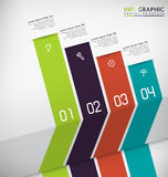 Infographic Background Stock Photography