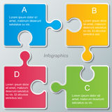 Infographic background Royalty Free Stock Images