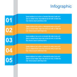 Infographic Banner Design Elements Stock Photos