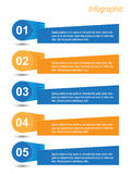 Infographic Banner Design Elements Stock Photography