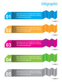 Infographic Banner Design Elements Royalty Free Stock Photos