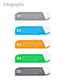 Infographic Banner Design Elements Royalty Free Stock Image