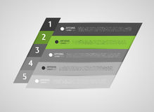 Infographic banners, design elements Stock Image