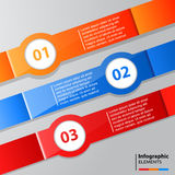 Infographic Banners Stock Images