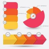 Infographic beståndsdeldesign Royaltyfri Fotografi