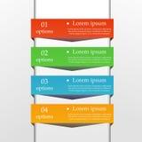 Infographic biznesu szablon Zdjęcie Stock