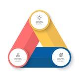 Infographic biznesu szablon Obraz Stock