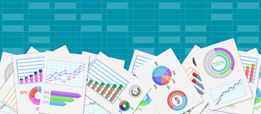 Infographic business design Stock Images
