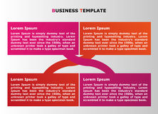 Infographic business presentation for web and graphic projects. Business infographic presentation for web and graphic projects Royalty Free Stock Photography