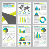 Infographic Business Template Royalty Free Stock Photos
