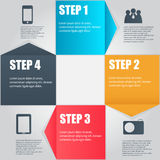Infographic business template vector illustration Stock Photos