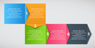 Infographic business template vector illustration Royalty Free Stock Images