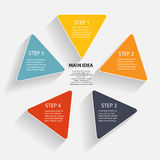 Infographic business template vector illustration Stock Image