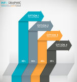 Infographic Chart Royalty Free Stock Photos
