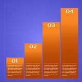 Infographic chart. Royalty Free Stock Images