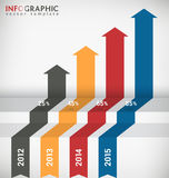 Infographic Chart Royalty Free Stock Photo