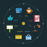 Infographic Chart Stock Images