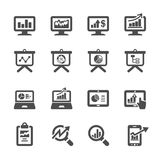 Infographic and chart icon set 4, vector eps10.  Stock Photography