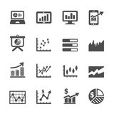 Infographic and chart icon set 6, vector eps10 Stock Photo