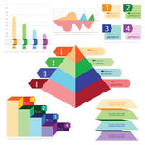 Infographic chart Stock Photos