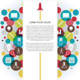 Infographic Colorful Icon royalty free illustration