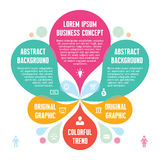 Infographic Concept - Abstract Background - Creati Stock Photos