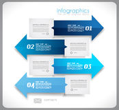 Infographic conceptual background with arrows. Infographics concept background to display your data in a stylish way. Clean detailaed design for stats, ranking Royalty Free Stock Photos