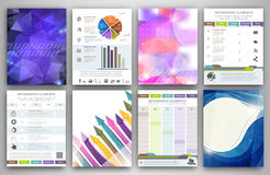 Infographic creativity concept Stock Images