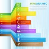 InfoGraphic cresce o negócio 02 ilustração stock