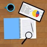 Infographic data analytics. Vector income information illustration Stock Photo