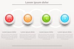 Infographic design Arkivbild