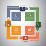 Infographic Design Royalty Free Stock Images