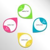 Infographic design Royaltyfri Foto