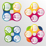 Infographic design Vektor Illustrationer