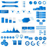 Infographic design Stock Image
