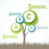 Infographic design Royalty Free Stock Photography