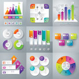 Infographic Design And Marketing Icons. Royalty Free Stock Photography