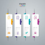 Infographic design and business icons. Royalty Free Stock Photography