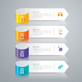 Infographic design and business icons. Stock Images