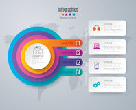 Infographic design and business icons. Stock Image