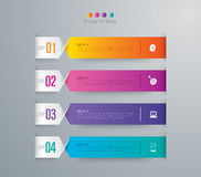 Infographic design and business icons. Royalty Free Stock Images