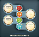 Infographic design element Royalty Free Stock Images