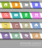 Infographic design element Royalty Free Stock Photography