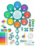 Infographic design element Stock Photos