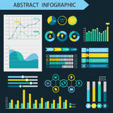 Infographic design elements. Presentation page concept Royalty Free Stock Photography