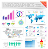 Infographic design elements Royalty Free Stock Image