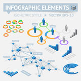 Infographic design elements Royalty Free Stock Photos